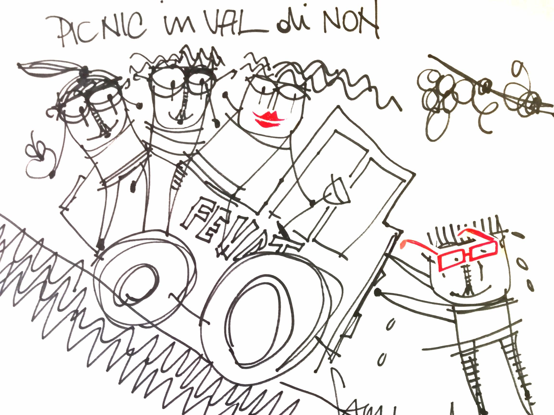pic nic in Val di Non