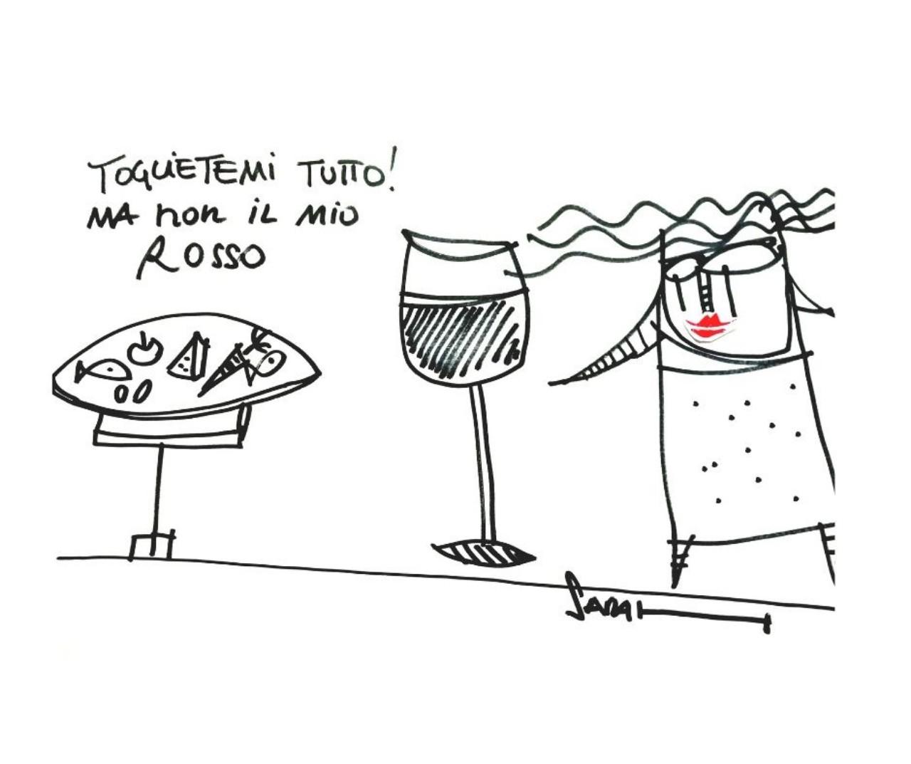 Il vino rosso e la dieta - Happy Winery